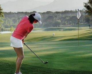 Jugadores de Golf en el PGA Catalunya Resort